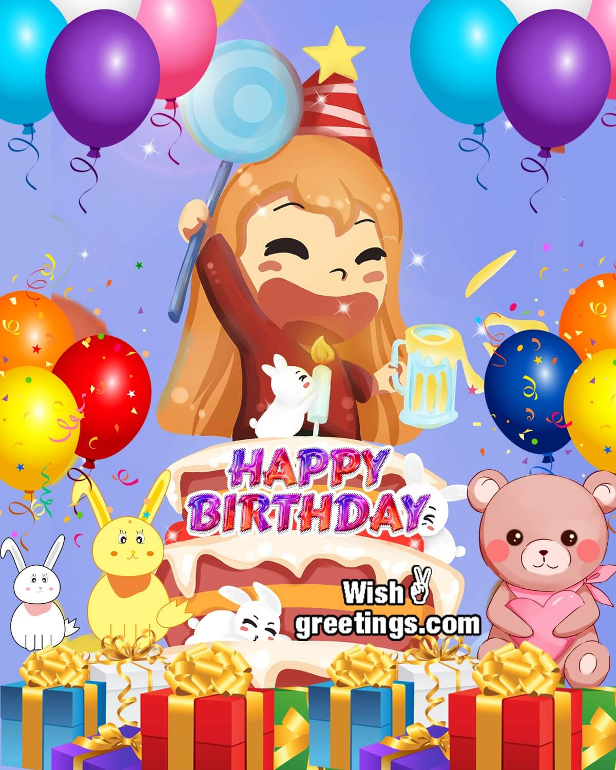 Happy Birthday Wishes Balloon Pictures Wish Greetings